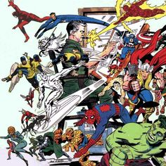 Kirby 100: (Some of the) characters created or co-created by Jack Kirby