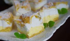 Řezy z odpalovaného těsta Camembert Cheese, Dairy, Food And Drink, Treats, Sweet, Recipes, Anna, Cakes, Hampers