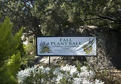 Annual Fall Plant Sale at the Santa Barbara Botanic Garden runs October 5 - November 3, 2013. www.sbbg.org
