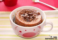 Mug Cake de almendra y toffee   Gastronomía & Cía