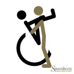We teamed up with Sportsheets to dish up some super-sexy wheelchair sex positions. This one's called the Shoulder Holder! #sexpositions