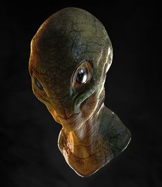 Alien 3D  Zbrush + Photoshop