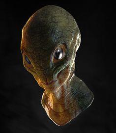 Alien 3D  Zbrush + Photoshop