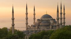 Correction! This is actually the Blue Mosque, which is close to the Hagia Sophia in Istanbul, Turkey
