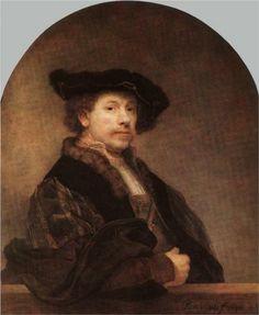 Self-portrait     Artist: Rembrandt  Completion Date: 1640  Style: Baroque  Genre: self-portrait
