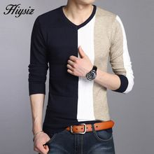 High Quality Fall Dress Wool Sweater Men Brand Clothing Knitted Cashmere Pullover Men Christmas Sweaters V-Neck Pull Homme 66201(China (Mainland))
