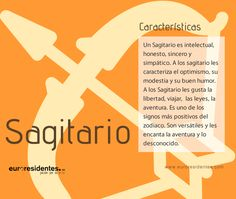 Características Sagitario