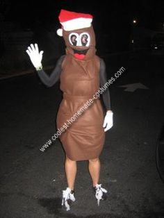 coolest homemade mister hanky the christmas poo from south park costume - Southpark Halloween Costumes