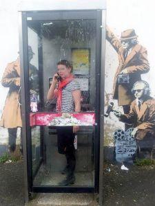 #Banksy #Streetart in Cheltenham