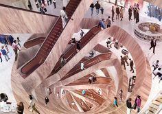 La firma holandesa de Rem Koolhaas es la encargada de remodelar y ampliar el histórico centro comercial Kaufhaus des Westens (KaDeWe) de Berlín. Inaugurado en 1907, el edificio se convirtió en un símbolo de la reconstrucción alemana...