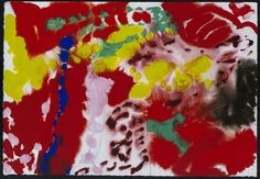 Patrick Heron - Gouaches from 1961 to 1996 - Works Patrick Heron, St Ives, The Draw, Inspiring Art, Floral Fabric, Kite, Gouache, Painting Inspiration, Contemporary Art