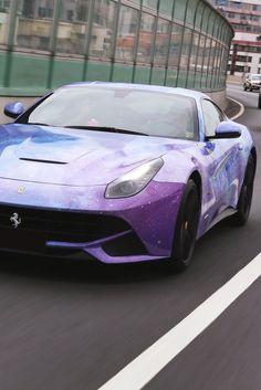 themanliness: Stardust Ferrari F12 | Source | More