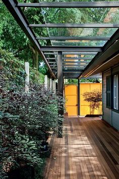 Glass cover goes from garage to gourmet kitchen on Inspirationde
