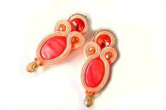 Soutache Jewelry, Earrings, Handmade, Fashion, Moda, Stud Earrings, Ear Rings, Fasion, Ear Piercings