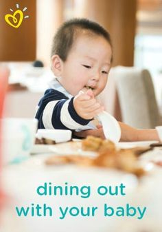 Dining out with your baby can be much easier if you prep and plan ahead of time. These suggestions may help make your night out on the town easier and more enjoyable for you and your little one.