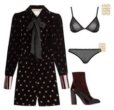 """""""Funk."""" by lucillefourny ❤ liked on Polyvore featuring Maison Margiela, Jil Sander and Maison Close"""