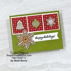Stampin Up Christmas, Christmas Candy, Xmas, Online Paper, December Holidays, Hand Stamped Cards, Coordinating Colors, Halloween Cards, Stamping Up