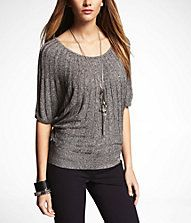 MARLED RADIATING RIB SWEATER