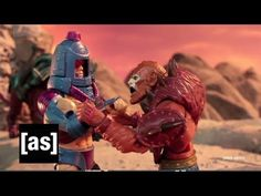 #RobotChicken: The Man of Man-E-Faces (Masters of the Universe) [adult swim] #mastersofuniverse #heman #manefaces #lol