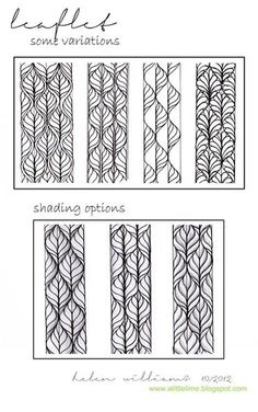 Zentangle Patterns Step By Step - Bing Afbeeldingen