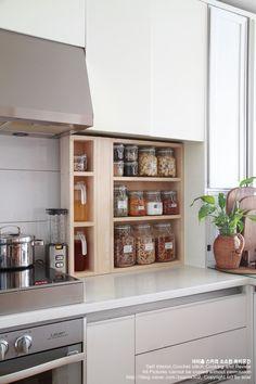 (주방인테리어) 주방 싱크대에 주방수납장 만들기 My home kitchen interior, http://blog.naver.com/ssanta302/220031827367