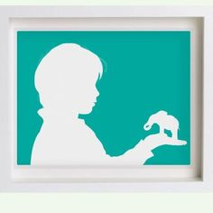 I'm so getting one of these made up for my little girl's room!