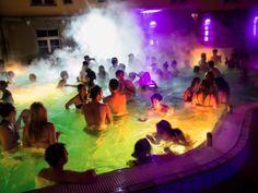 Lukacs Baths Magic Bath Party Budapest Nightlife