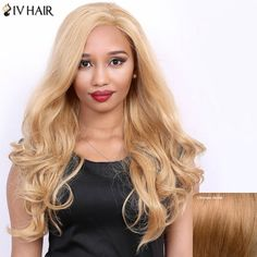 Wavy Long Side Parting Real Natural Hair Siv Wig #>=#>=#>=#>=#> Click on the pin to check out discount price, color, size, shipping, etc. Save and like it!