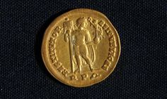 Gold Byzantine coins found in Egypt
