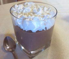 Mabel's Kitchen: VASITOS DE CHOCOLATE Y NATA ESTILO DALKY'S... receta microondas.