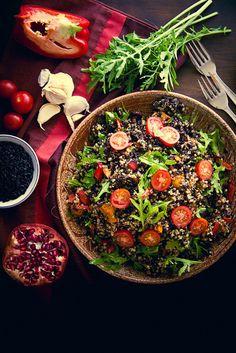Moroccan-Style Black Rice Salad