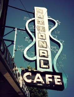 National Cafe - Moose Jaw, Sask. Make Time, Make Me Smile, Moose, Art Photography, Wanderlust, Canada, Neon Signs, Memories, Vacation