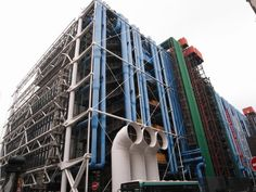 Centre Pompidou can be an example that utilities can be a part of design for a building design. This is a significant idea that perception of servant spaces needs to be invisible.