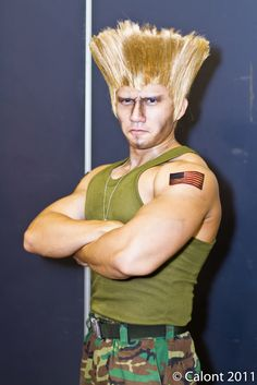 Guile from Street Fighter