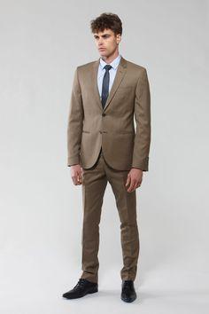 Leroy Slim Suit  Slim SuitBlack ShoesColor Combinations