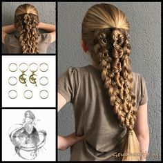Fishtail bubble braid with dutch braids and beautiful hair rings from the webshop www.goudhaartje.nl (worldwide shipping) Hairstyle inspired by: @nita_loves_hair (instagram) #fishtailbubblebraid #bigbraid #hairrings #hairpiercing #hair #hairstyle #girly #longhair #plait #plaits #trenza #beautifulhair #gorgeoushair #stunninghair #braid #braids #hairinspo #hairinspiration #hairideas #braidideas #hairaccessories #vlecht #haar #goudhaartje