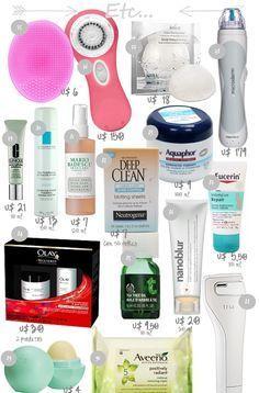 Minha Querida Necessaire » Guia de compras nos EUA   Parte 2 – Produtos para pele
