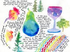 Susan N Jarvis: Illustrated Journal, Color Assignment
