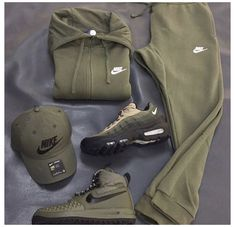 Swag Outfits Men, Tomboy Outfits, Dope Outfits, Trendy Outfits, Fashion Outfits, Men Nike Outfits, Men's Outfits, Fashion Fashion, Parisian Fashion