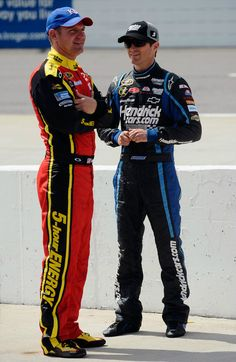 """Congratulations to """"Iron Mike"""" Forsgren...his driver Clint Bowyer, #15 """"5-hour Energy"""" was the top finisher among our drivers. Clint finished fifth in the Pure Michigan 400."""