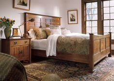 cool Stickley Edinburgh Bed - Stylendesigns.com!