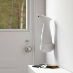 Our popular sensor dispenser OTTO from Umbra can now be mounted on the wall and filled with hand sanitizer gel, hand soap, lotion, sulfo or likewise. Easy to mount, easy to use! House Doctor, Hand Sanitizer, Wall Mount, Lotion, Vase, Home Decor, Soap, Products, Popular