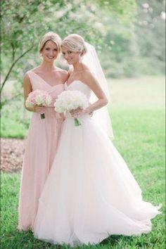 Bridesmaid dress is pretty