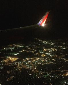 Power Grids are amazing to see at night. Flying with bae! @southwestair  #southwest #lights #flying #orlando #indianapolis