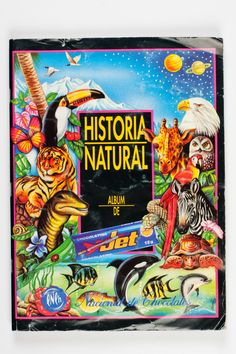 Album Historia Natural 1993 7a edición