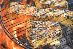 Grill Basket Halibut