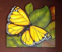 argina seixas - Buscar con Google Tole Painting, Fabric Painting, Painting On Wood, 3d Art, 3d Wall Art, Glass Butterfly, Butterfly Painting, Butterfly Quilt, Mosaic Garden