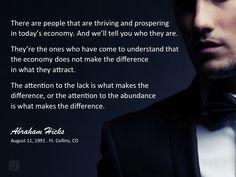 #abrahamhicks #financialwellbeing #attention