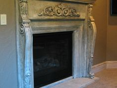 Loire corbels make a gorgeous fireplace surround | Ideas - Vesta Precast Accents