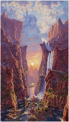 Mystic Passage by Jonathon Earl Bowser